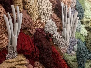 Мастерица из Португалии создает «живые кораллы» из остатков ткани. Ярмарка Мастеров - ручная работа, handmade.