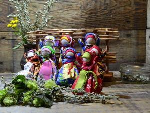 Делаем куколку-саше «Малышка Травница». Ярмарка Мастеров - ручная работа, handmade.