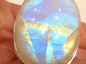 Видео кольца «Лунная сказка» лунный камень адуляр,серебро 925 ручная работа. Ярмарка Мастеров - ручная работа, handmade.