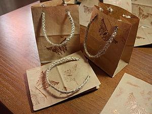 Упаковочные пакетики с бабочками. Ярмарка Мастеров - ручная работа, handmade.