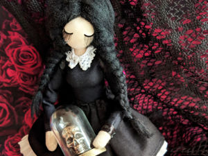Wednesday Addams. Ярмарка Мастеров - ручная работа, handmade.