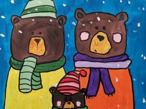 Как нарисовать семью медведей. Ярмарка Мастеров - ручная работа, handmade.