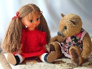 Новая жизнь куклы с трудной судьбой.. Ярмарка Мастеров - ручная работа, handmade.