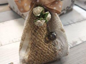 Мастерим ароматный мешочек-саше. Ярмарка Мастеров - ручная работа, handmade.