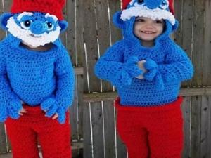 Стефани Покорны создает пугающе-прекрасные вязаные костюмы для детей. Ярмарка Мастеров - ручная работа, handmade.