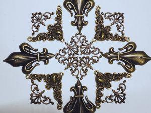 Варианты орнаментов и узоров из нашей фурнитуры. Ярмарка Мастеров - ручная работа, handmade.