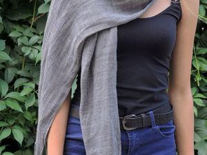 Скидка на шарф в стиле  «Свободное Бохо». Ярмарка Мастеров - ручная работа, handmade.