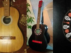 Реставрация акустической гитары СССР. Ярмарка Мастеров - ручная работа, handmade.