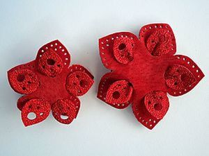 Украшения из кожи для маленькой модницы. Ярмарка Мастеров - ручная работа, handmade.