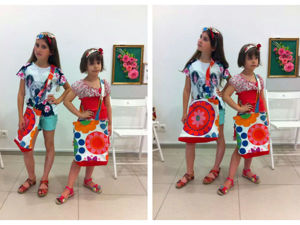 Видео мастер-класс: шьем вместе с детьми летнюю сумку и стильную повязку для волос. Ярмарка Мастеров - ручная работа, handmade.