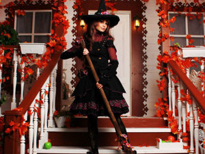 Создаём волшебную метлу для костюма на Хэллоуин. Ярмарка Мастеров - ручная работа, handmade.