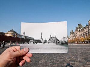Было-стало: город раньше и сейчас. Ярмарка Мастеров - ручная работа, handmade.