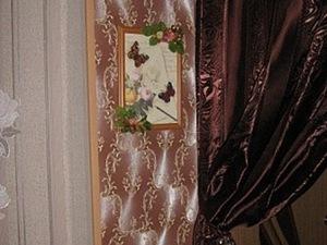 Как оформить вышивку, или Рамка из ничего. Ярмарка Мастеров - ручная работа, handmade.