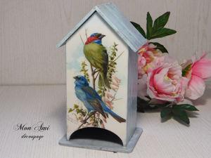 Чайный домик Птички. Ярмарка Мастеров - ручная работа, handmade.