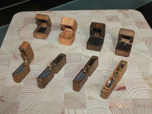 Дополнение коллекции шкатулок для колец. Ярмарка Мастеров - ручная работа, handmade.