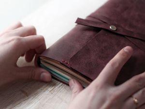 Зачем блокнот должен быть всегда под рукой. Ярмарка Мастеров - ручная работа, handmade.