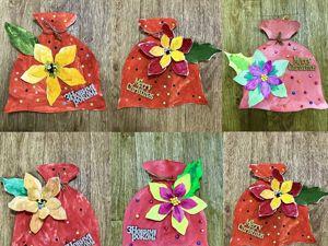Делаем новогодний мешочек из акварельной бумаги. Ярмарка Мастеров - ручная работа, handmade.