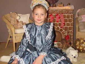 Подарок для маленькой принцессы: шьем нарядное платье. Ярмарка Мастеров - ручная работа, handmade.