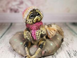 Видео-обзор птенца крапивницы. Ярмарка Мастеров - ручная работа, handmade.