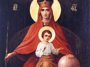 15 марта. Празднование Иконы Божией Матери, именуемой  «Державная». Ярмарка Мастеров - ручная работа, handmade.