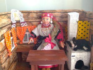 Авторская кукла Дарёнка в девичьем наряде Скопинского уезда Рязанской губернии. Ярмарка Мастеров - ручная работа, handmade.