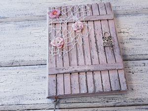 Блокнот ручной работы  «Дверь в сказку». Ярмарка Мастеров - ручная работа, handmade.