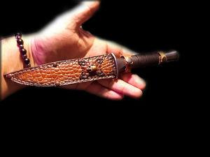 Нож походный. Ярмарка Мастеров - ручная работа, handmade.