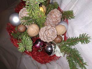 Делаем новогодний ореховый букет. Ярмарка Мастеров - ручная работа, handmade.