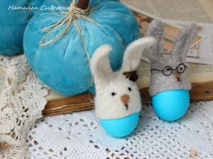 Пасхальные  «шапочки» для яиц. Ярмарка Мастеров - ручная работа, handmade.
