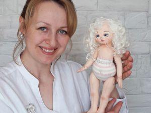 Шьем куклу из ткани. Часть 1. Ярмарка Мастеров - ручная работа, handmade.