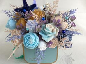 День знаний: 5 цветочных подарков учителю. Ярмарка Мастеров - ручная работа, handmade.