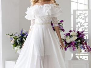 Аукцион на Шикарное свадебное платье ! Старт 3000 руб.!. Ярмарка Мастеров - ручная работа, handmade.