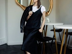 Платье-комбинация изо льна вашему вниманию!. Ярмарка Мастеров - ручная работа, handmade.
