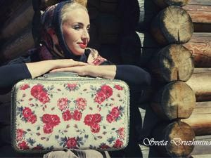 Реставрируем чемодан. Лучший друг советского путешественника. Ярмарка Мастеров - ручная работа, handmade.
