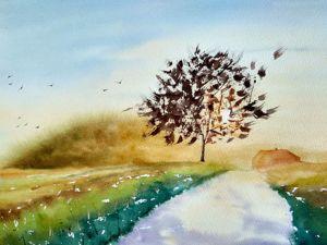Видео обзор картины  «Утро». Ярмарка Мастеров - ручная работа, handmade.