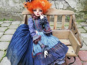 """Скидка на куклу  """"Жанна. Ярмарка Мастеров - ручная работа, handmade."""