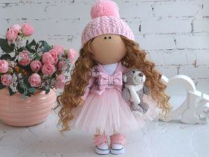 Шьем несъемную одежду для куклы. Ярмарка Мастеров - ручная работа, handmade.