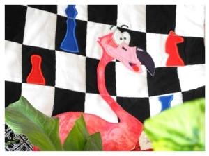 И снова Алиса!! Лоскутные покрывала с аппликациями на заказ!!. Ярмарка Мастеров - ручная работа, handmade.