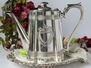 Дополнительные фотографии антикварного красавца кофейника. Ярмарка Мастеров - ручная работа, handmade.