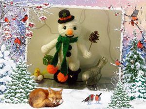 В последние денёчки декабря пожелание Друзьям!. Ярмарка Мастеров - ручная работа, handmade.