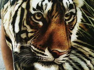 Золотой Тигр!!!. Ярмарка Мастеров - ручная работа, handmade.
