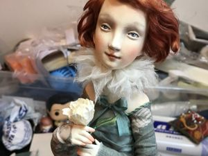 Новая куколка. Ярмарка Мастеров - ручная работа, handmade.