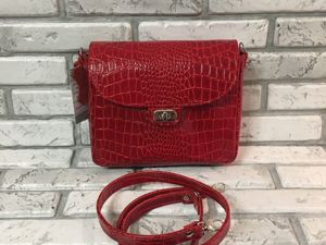 Акция!!!Кожаные сумочки по 2000 руб.!!!. Ярмарка Мастеров - ручная работа, handmade.