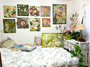 Набор Сад души, цветочные панно/ цветочные картины/ композиции. Ярмарка Мастеров - ручная работа, handmade.