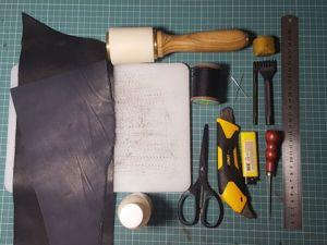 Изготавливаем портмоне в стиле minimal: мастер-класс для новичков. Ярмарка Мастеров - ручная работа, handmade.