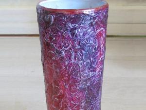 Декорируем вазу «Космическая фантазия». Ярмарка Мастеров - ручная работа, handmade.