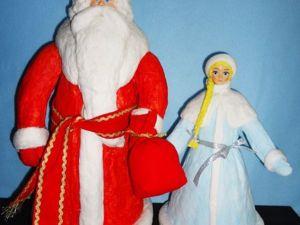 Мастерим Снегурочку для советского Дедушки Мороза. Ярмарка Мастеров - ручная работа, handmade.