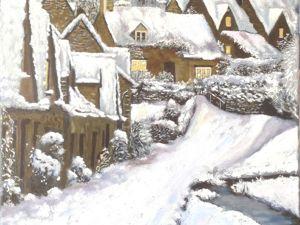 Голландская зима в моем представлении. Ярмарка Мастеров - ручная работа, handmade.