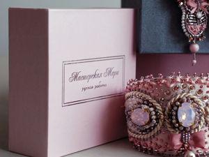 Новая упаковка для моих украшений. Ярмарка Мастеров - ручная работа, handmade.