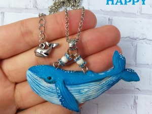 Видео мастер-класс: лепим кита из полимерной глины. Ярмарка Мастеров - ручная работа, handmade.